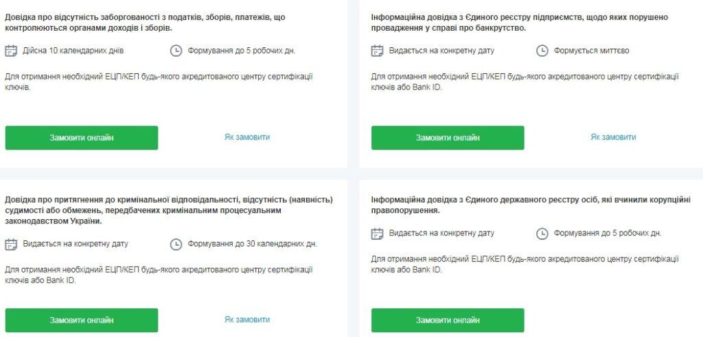 Довідки для публічних закупівель замовити онлайн Zakupki.Prom.ua